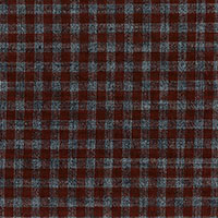 Brown & Grey Check Custom Shirt Fabric
