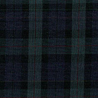 Mustard Navy And Green Check Custom Shirt Fabric