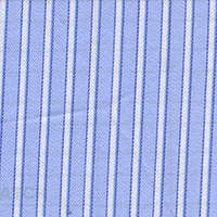 Blue Stripe Custom Shirt Fabric