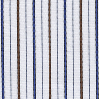 Mustard Mulit Stripe Custom Shirt Fabric