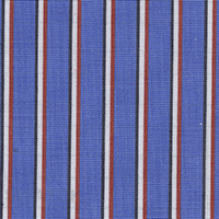 Royal Blue Stripe Custom Shirt Fabric