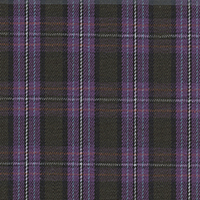Lavender Plaid Custom Shirt Fabric