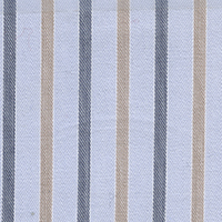 Tan Brdcloth Stripe Custom Shirt Fabric