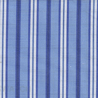 Blue Brdcloth Stripe Custom Shirt Fabric