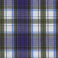 Lavender Lvdr Brdcloth Plaid Custom Shirt Fabric