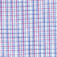 Red Check Custom Shirt Fabric
