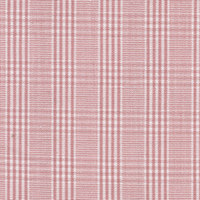 Pink Twill Plaid Custom Shirt Fabric