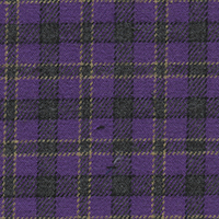 Lavender Twill Plaid Custom Shirt Fabric