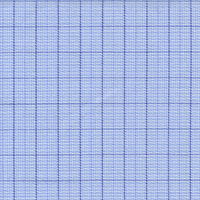 Blue Brdcloth Check Custom Shirt Fabric