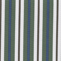 Green Stripe Custom Shirt Fabric