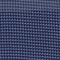 Navy Twill Check Custom Shirt Fabric