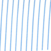 Light Blue White W/Blue Stripe Custom Shirt Fabric