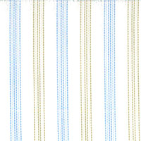 White/Tan/Blue Str. Custom Shirt Fabric