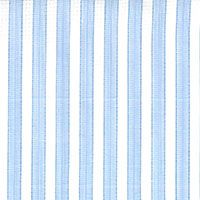 Blue And White Strip Custom Shirt Fabric