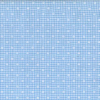 Light Blue Blue W/White Dots Custom Shirt Fabric