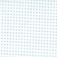 Light Blue White W/Blue Dots Custom Shirt Fabric