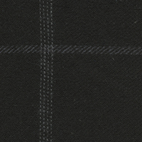 Black Twill Plaid Custom Shirt Fabric