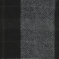 Gray Grey/Black Plaid Custom Shirt Fabric