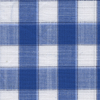 Blue Plaids Custom Shirt Fabric