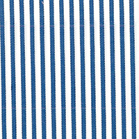 Blue & White Stripe Custom Shirt Fabric