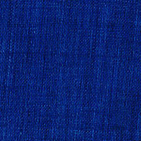Blue Linen Solid Custom Shirt Fabric