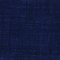 Navy Linen Solid Custom Shirt Fabric