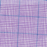 Lavender Linen Plaid Custom Shirt Fabric