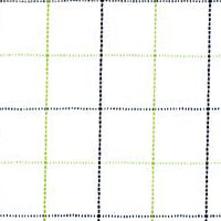 Green Satin Check Custom Shirt Fabric