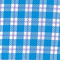 Blue Twill Plaid Custom Shirt Fabric