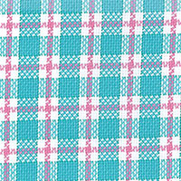 Green Twill Plaid Custom Shirt Fabric