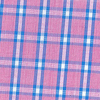 Pink Brd Plaid Custom Shirt Fabric