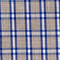 Tan Brd Plaid Custom Shirt Fabric
