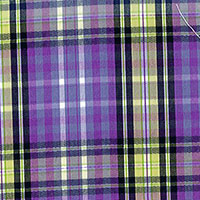 Lavender Brd Plaid Custom Shirt Fabric