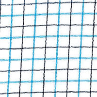 Green Linen Check Custom Shirt Fabric