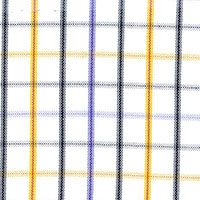 Lavender Oxfor Plaid Custom Shirt Fabric