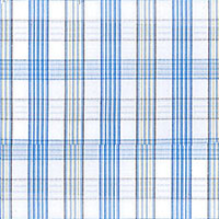 Blue Brd Plaid Custom Shirt Fabric