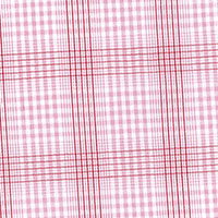 Red Brd Check Custom Shirt Fabric