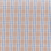 Tan Brd Check Custom Shirt Fabric