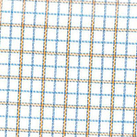 Tan Oxford Check Custom Shirt Fabric