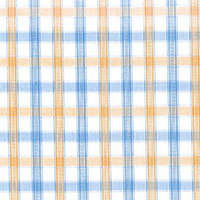 Yellow Brd Check Custom Shirt Fabric