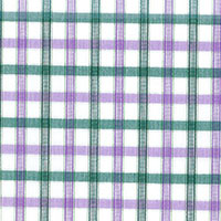 Lavender Brd Check Custom Shirt Fabric
