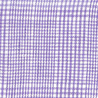 Lavender Purple Linen Plaid Custom Shirt Fabric