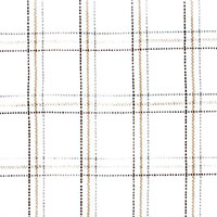 Linen Tan Plaid Custom Shirt Fabric
