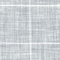 Gray Plaid Custom Shirt Fabric