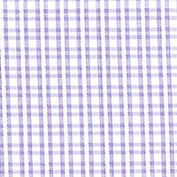 Lavender Purple Satin Check Custom Shirt Fabric