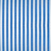 Blue 100% Cotton Custom Shirt Fabric