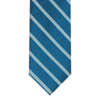 NECKWEAR 100% SILK   BLUE