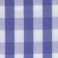 Blue Check Custom Shirt Fabric