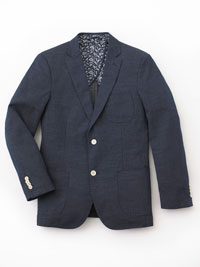 NAVY Sports Coat by Tom James