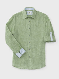 GREEN Long Sleeve Sport Shirts by Report